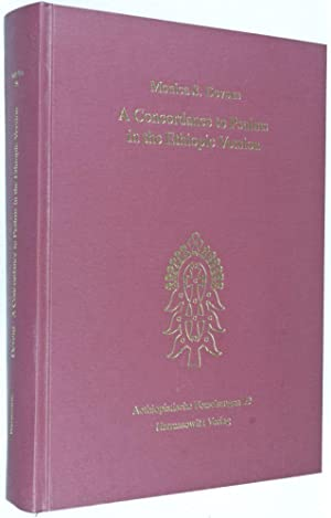 Aethiopischen Forschungen 59 : A Concordance to Psalms in the Ethiopic Version [INSCRIBED BY AUTHOR...