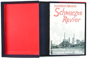 Schwarzes Revier [WITH ORIGINAL DUST JACKET]: Hauser, Heinrich