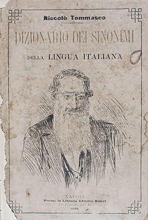 Dizionario dei Sinonimi della Lingua Italiana: Tommaseo, Niccolò