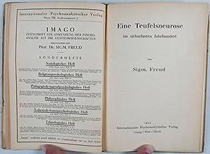 Zur Einführung des Narzissmus. Eine Teufelsneurose im 17. Jahrhundert. Kleine Beiträge ...