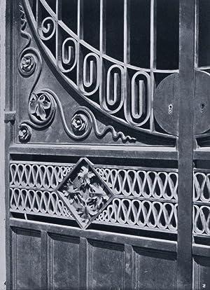 """Estratto dal """"Per l'Arte"""", Rivista di Arte Decorativa. Serie: Ferri Artistici. ..."""
