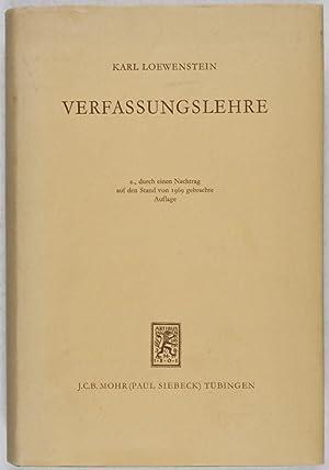 Verfassungslehre: Loewenstein, Karl