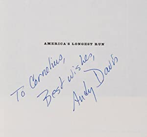 America's Longest Run. A History of the Walnut Street Theatre [INSCRIBED AND SIGNED BY AUTHOR]...