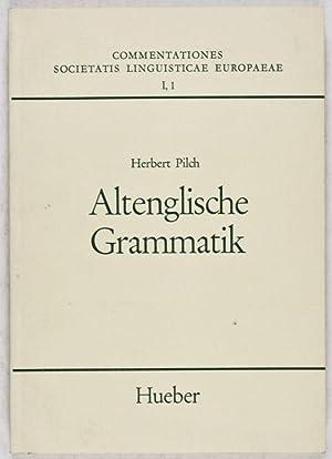 Commentationes Societatis Linguisticae Europaeae I, 1 : Altenglische Grammatik. Dialektologie, ...