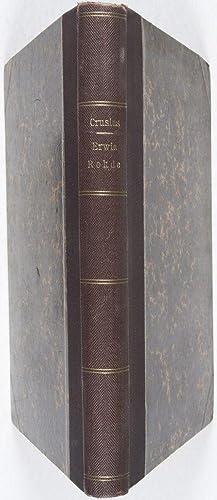 Erwin Rohde. Ein biographischer Versuch [FROM THE PERSONAL LIBRARY OF GEORG WISSOWA*]: Crusius, O.