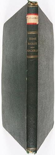 Judae Harizii Macamae Pauli de Lagarde studio et sumptibus editae: Alharizi, Yehuda (also known as ...