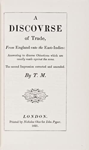 Early English Tracts on Commerce: McCulloch, J. R. (Editor)