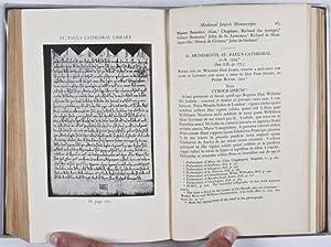Jews of Medieval England: Adler, Michael