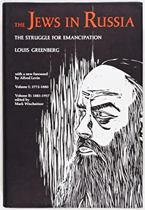 The Jews in Russia: The Struggle of Emancipation: Greenberg, Louis