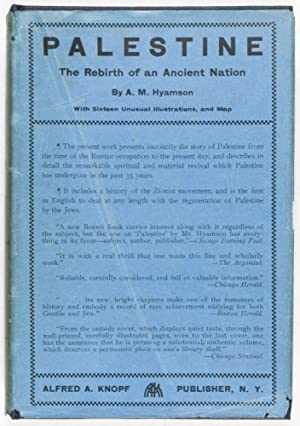 Palestine: The Rebirth of an Ancient Nation: Hyamson, A. M.