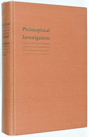 Philosophische Untersuchungen - Philosophical Investigations: Wittgenstein, Ludwig; G. E. M. ...