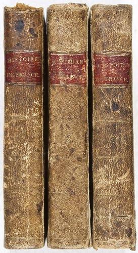 Elémens de l'Histoire de France Depuis Clovis jusqu'à Louis XV. 3-Vol. set (Complete): ...