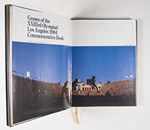Games of the XXIIIrd Olympiad Los Angeles 1984 Commemorative Book - (Autographed) Gold Edition [...