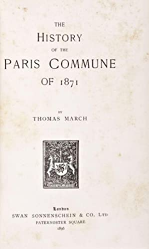 The History of the Paris Commune of 1871: March, Thomas