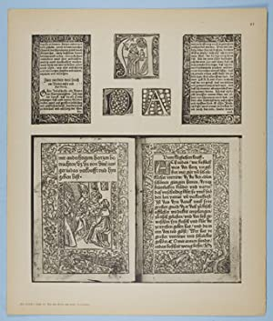 Das Alte Buch und seine Ausstattung vom XV. bis zum XIX. Jahrhundert: Buchdruck, Buchschmuck und ...