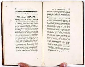 Vie de Molière, avec des jugemens sur ses ouvrages: Voltaire