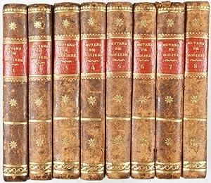 Oeuvres de J. B. Poquelin de Molière. Edition stéréotype. 8-vol. set (Complete...