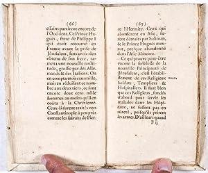 Histoire des Croisades: Voltaire