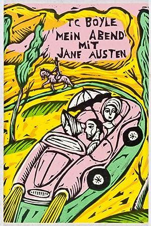 Mein Abend mit Jane Austen: Boyle, Tom Coraghessan; Sophie Dutertre (illust.)