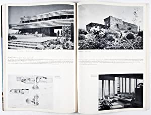 Frank Lloyd Wright: Sechzig Jahre lebendige Architektur. Sixty Years of Living Architecture: Moser,...