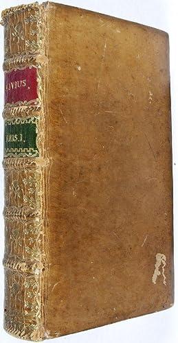 Operum. Pentas Prima (First volume only): Livii, Titi (Titus Livius); Friedrich A. Stroth (Editor)