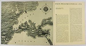 Lloyd Mittelmeer-Fahrten 1934: Norddeutscher Lloyd
