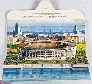 Pop-Up Lenin Stadium Mailer (Die grosse Sportarena des Lenin-Stadions. Lenin Stadium. La grande ar&...