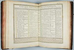 Atlas Elementaire ou l'on voit sur des Cartes et des Tableaux relatifs à l'Objet l'Etat...