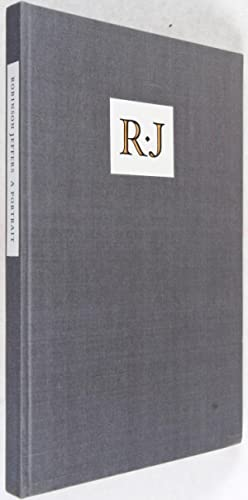 Robinson Jeffers: A Portrait [SIGNED]: Adamic, Louis