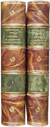 Historia Social Politica y Religiosa de Los Judios de Espana y Portugal (2 Volumes): Los Rios, Jose...