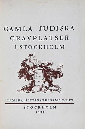 Gamla Judiska Gravplatser I Stockholm: n/a