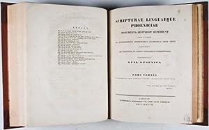 Scripturae Linguaeque Phoeniciae Monumenta Quotquot Supersunt Edita et Inedita ad Autographorum ...