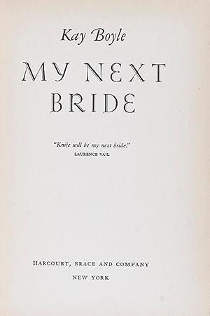 My Next Bride: Boyle, Kay