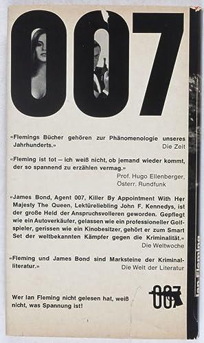007 James Bond und die Aktion Feuerball [Thunderball]: Fleming, Ian