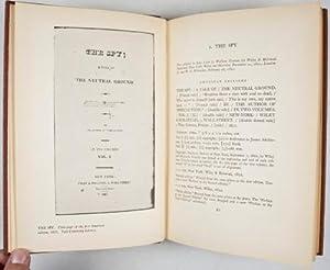 A Descriptive Bibliography of the Writings of James Fenimore Cooper (INSCRIBED]: Spiller, Robert E....