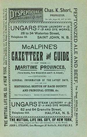 McAlpine's Gazetteer and Guide for the Maritime: n/a