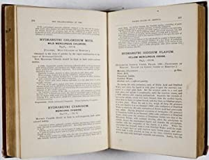 The Pharmacopceia of the United States of America; Seventh Decennial Revision (1890): National ...