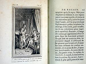 Contes De Bocace. Traduction nouvelle, augmentee de divers Contes et Nouvelles en vers imites de ce...
