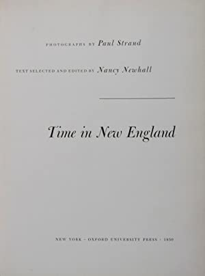 Time in New England. 106 photographs by Paul Strand: Newhall, Nancy