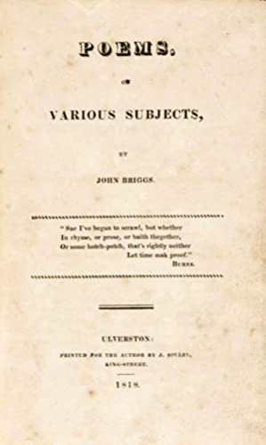 Poems on various subjects: Briggs, John