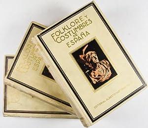 Folklore Y Costumbres De Espana: Candi, F. Carreras Y.