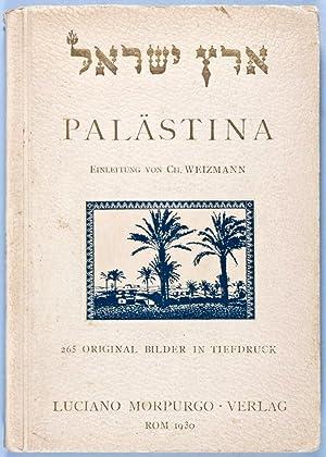 Palästina: Morpurgo, Luciano; Ch. Weizmann (Preface)