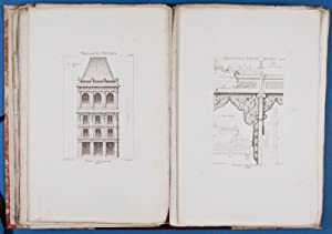Paris Architecte. Revue Mensuelle Illustrée. Première, Deuxième, Troisi&egrave...