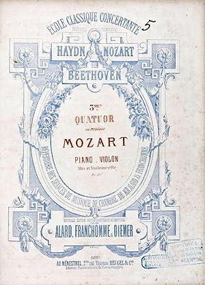 3 Quatuors pour P iano, Violon, Alto et Violoncelle Composés par F. Mendelssohn Bartholdy : ...