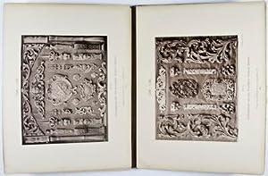 Ornamente der Holzsculptur von 1450-1820 aus dem Bayrischen National Museum: Hefner-Alteneck, J. H.