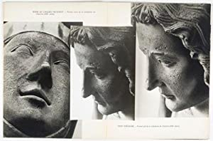 Têtes de Statues Gothiques [WITH 8 ORIGINAL PHOTOGRAPHS BY THE ARTIST LAID IN]: ...