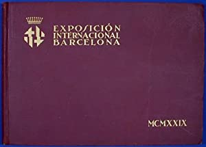 Exposición Internacional de Barcelona MCMXXIX: n/a