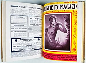 Schönheits-Magazin (8 issues for the year 1926 bound in one volume): Scott, Franz (editor)