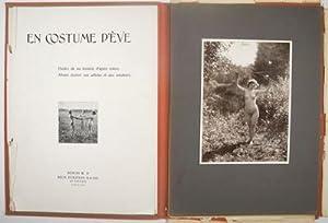 En Costume d'Eve. Etudes de Nu Féminin d'après Nature. Album destiné...