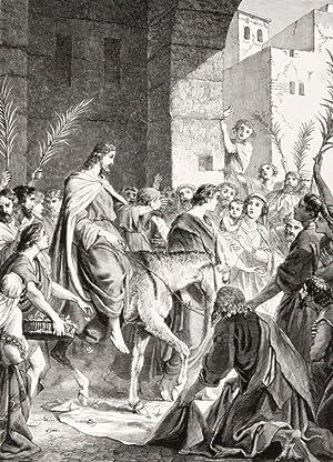 Illustrirte Pracht-Bibel oder die ganze Heilige Schrift: Delitsch, Otto (Illustrations